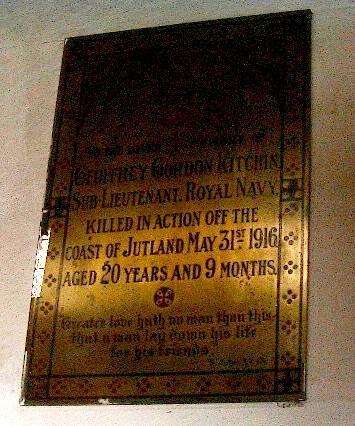Roll Of Honour Bedfordshire Podington