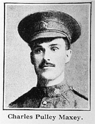 Killed in action 7-5-16 (trenches at Hill 60, Zillebeke), age 30. Son of Lydia Mary Maxey, of 9 Henry Street, Wisbech, ... - WisbechMaxeyCP