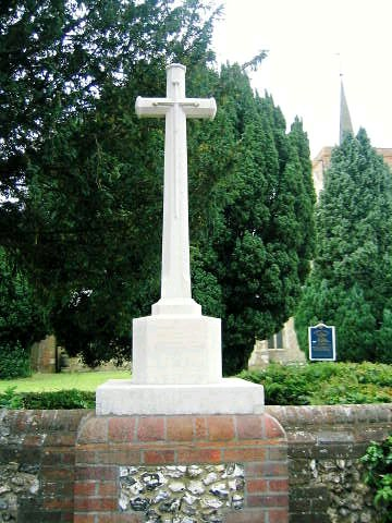 Roll of Honour - Hertfordshire - Flamstead