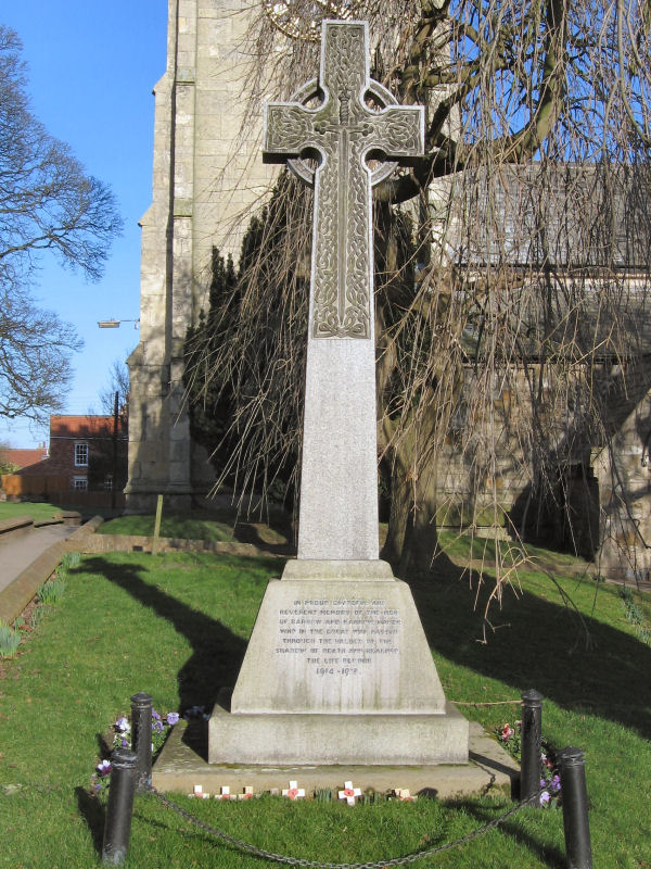 Roll Of Honour Lincolnshire Barrow On Humber And