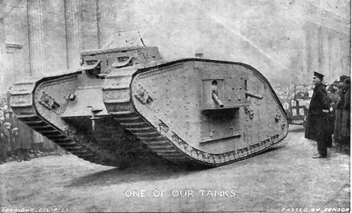 Roll of Honour - Overview - World War 1 Tanks