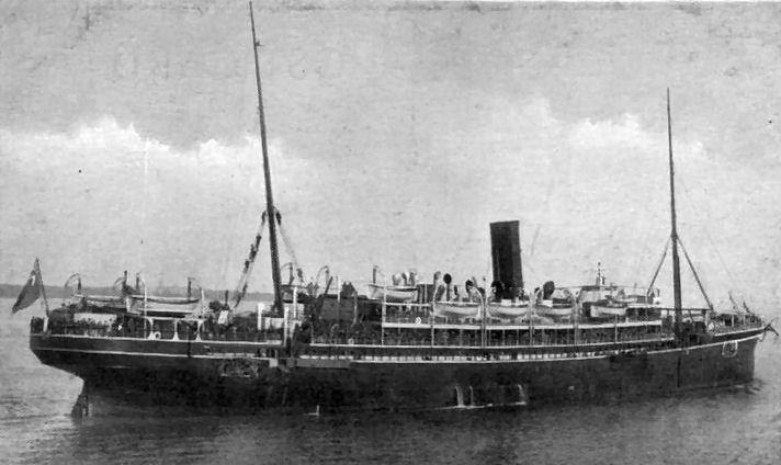 Roll Of Honour Ships Hm Troopship Assaye