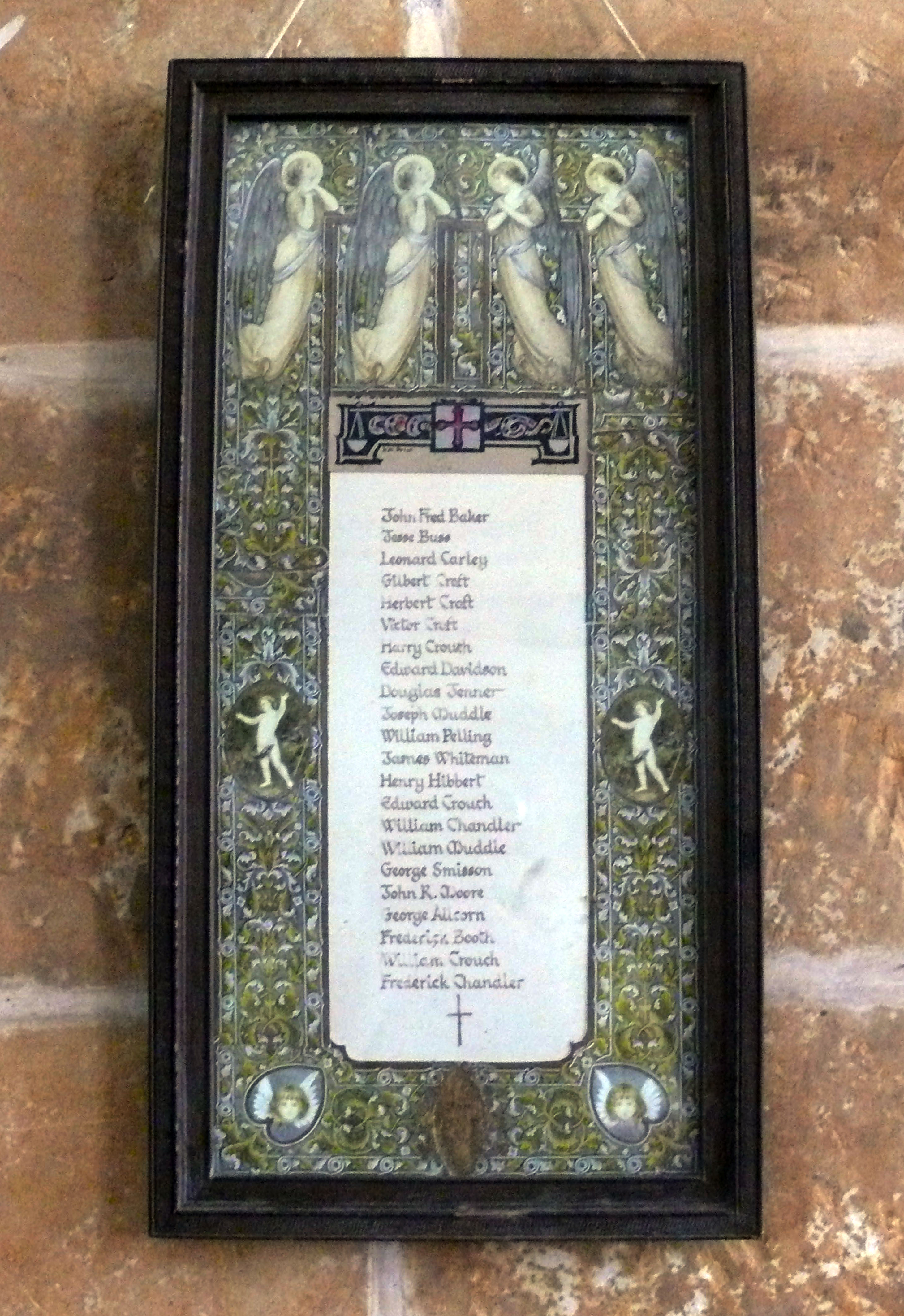 Roll Of Honour Sussex Brightling